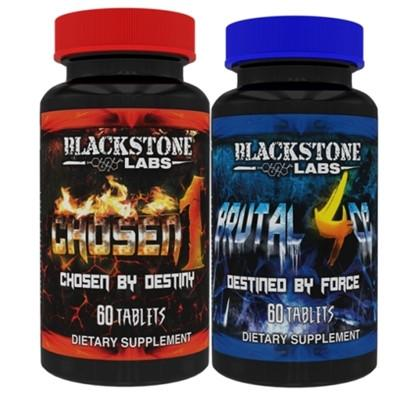 Blackstone Labs Brutal 4ce & Chosen 1 Stack - Befit Supplements