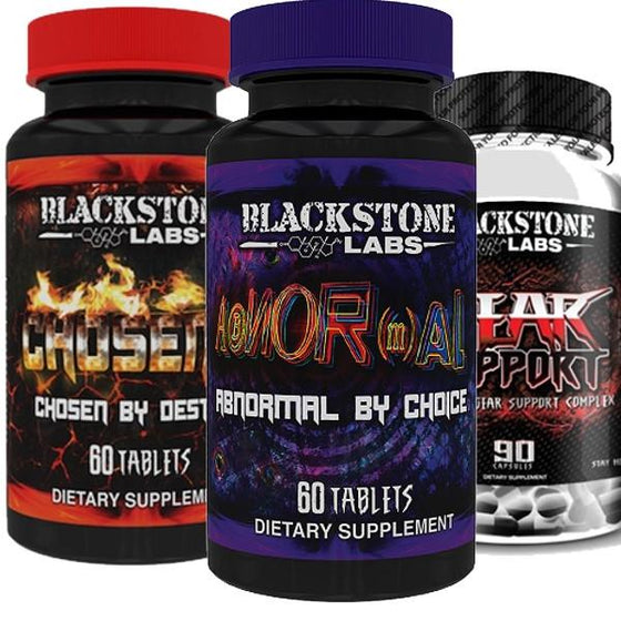 Blackstone Labs Chosen 1 & Abnormal & Gear Support