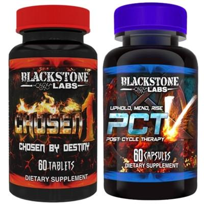 Blackstone Labs Chosen 1 & PCT V Stack - Befit Supplements