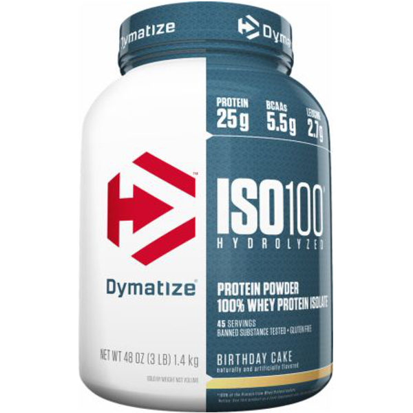 Dymatize iso-100 3lb - SupplementsMax