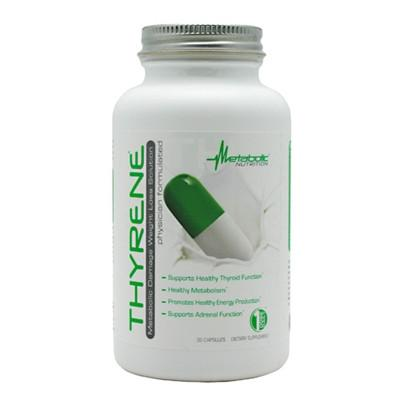 Metabolic Nutrition Thyrene - SupplementsMax