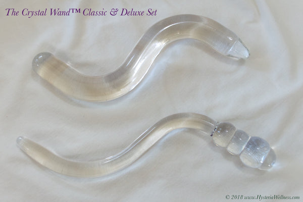 The Pelvic Floor Crystal Wand - Classic & Deluxe Set