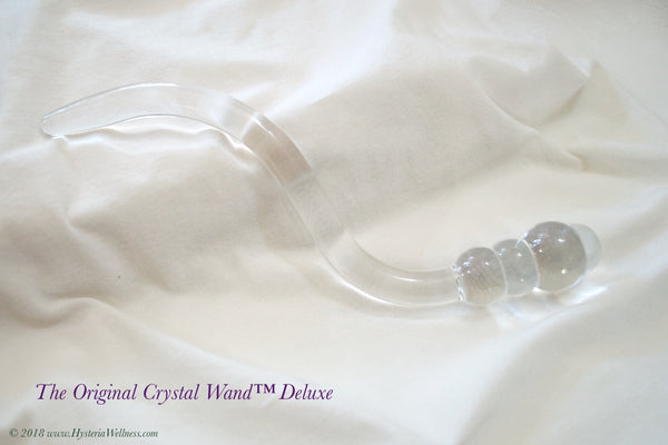 The Pelvic Floor Crystal Wand - Deluxe Style