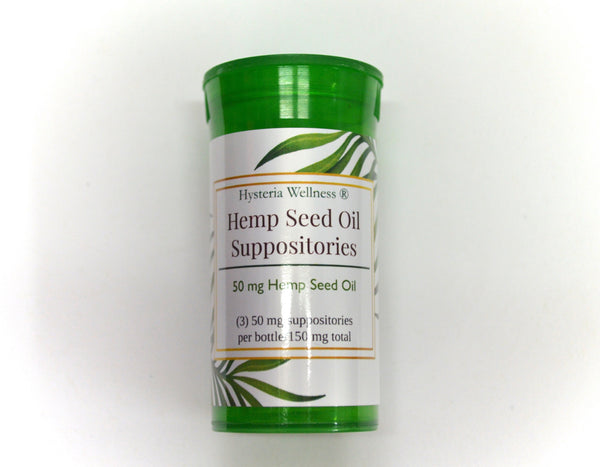 Hemp Seed Oil Suppositories