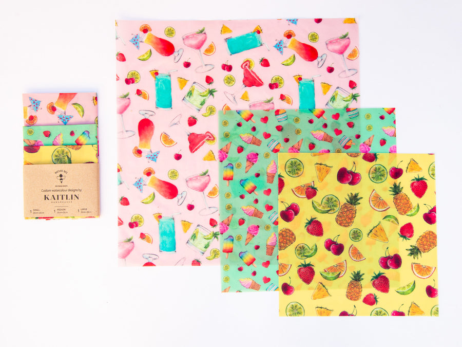 Kaitlin Hargreaves Limited Edition Beeswax Wrap Collection