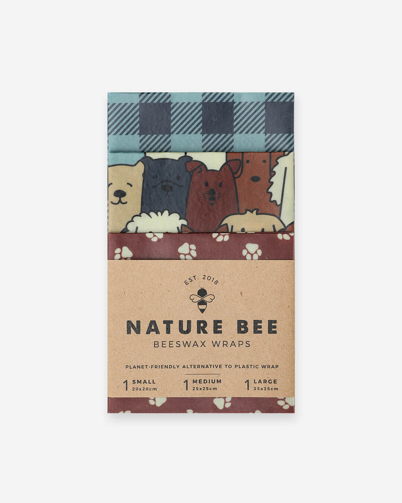 Puppy Variety Set - Beeswax Wrap