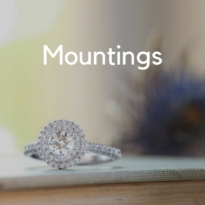 engagement ring mounting ideas