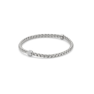18k White Gold Fope EKA Tiny Bracelet