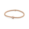 18k Rose Gold Fope Prima Bracelet with Diamond