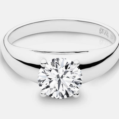 Charlize Round Brilliant Diamond Solitaire - Naledi