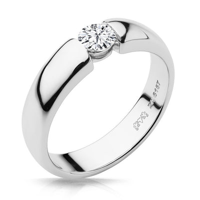 Claire Round Brilliant Ring Design - Naledi
