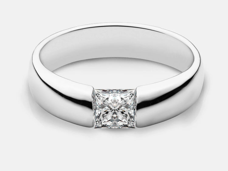 Claire Princess-Cut Ring Design