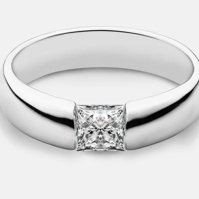 Claire Princess Cut Ring Design