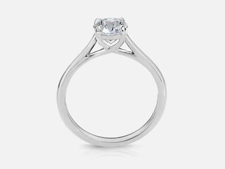 Yellow Gold Mackenzie Oval Solitaire - Naledi