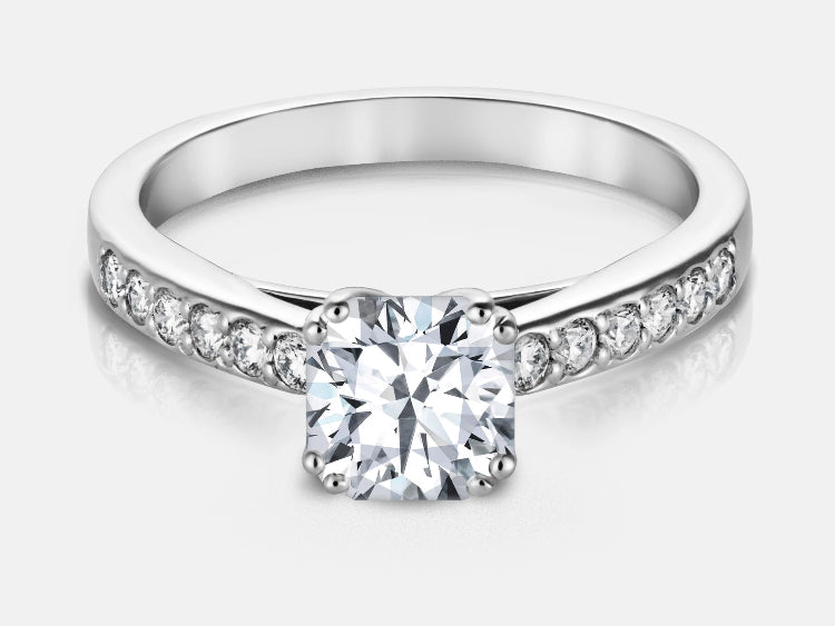 Gabriella Cushion Cut Ring Design