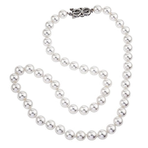 Pearl Strand Necklace with 18k White Gold Clasp