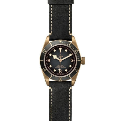 Tudor Black Bay Bronze 43mm M79250BA-0001 flat
