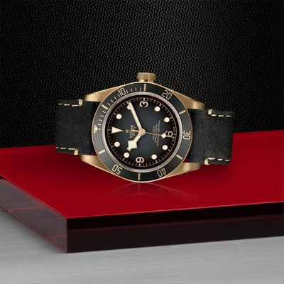 Tudor Black Bay Bronze 43mm M79250BA-0001 on side