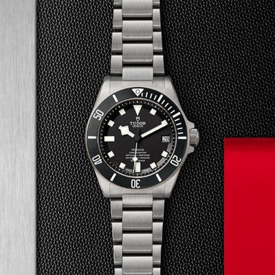 Tudor Pelagos Black Laying Down