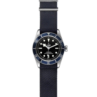 Tudor Black Bay 41mm Steel M79230B-0006 flat