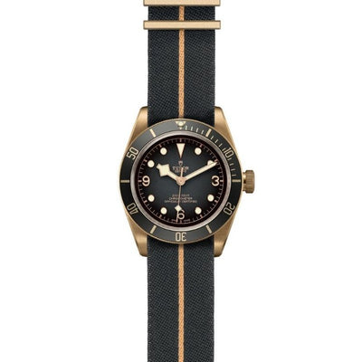 Tudor Black Bay Bronze 43mm M79250BA-0002 flat