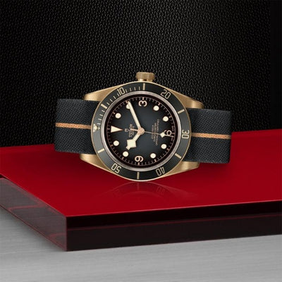 Tudor Black Bay Bronze 43mm M79250BA-0002 on side