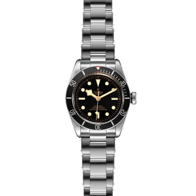 Tudor Black Bay 41mm Steel M79230N-0009 flat