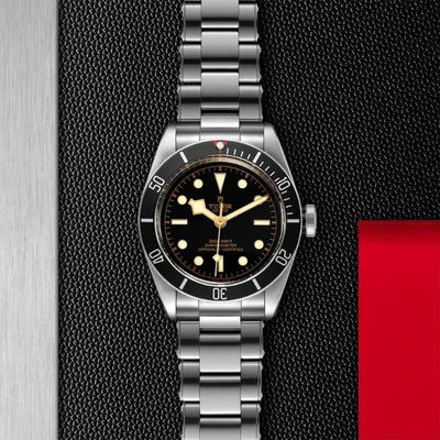 Tudor Black Bay 41mm Steel M79230N-0009 black dial and bezel
