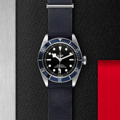 Tudor Black Bay 41mm Steel M79230B-0006 black dial blue bezel