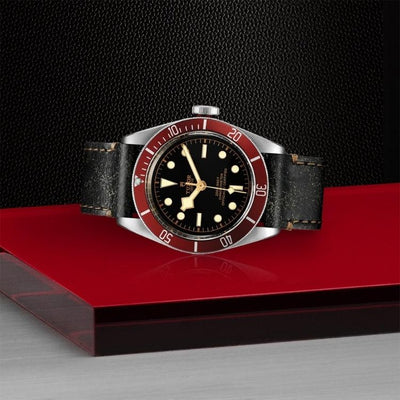 Tudor Black Bay 41mm Steel M79230R-0011 on side