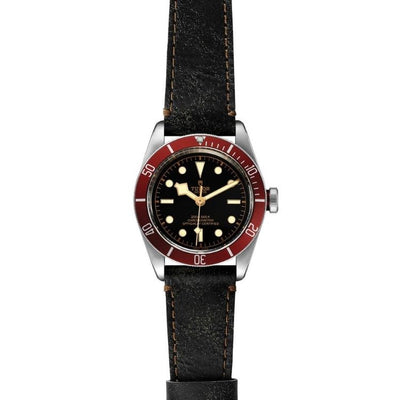 Tudor Black Bay 41mm Steel M79230R-0011 flat