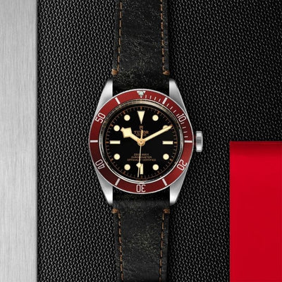 Tudor Black Bay 41mm Steel M79230R-0011 black dial red bezel