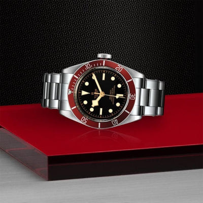 Tudor Black Bay 41mm Steel M79230R-0012 on side