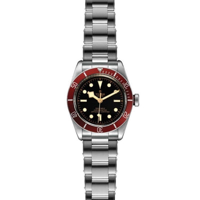 Tudor Black Bay 41mm Steel M79230R-0012 flat