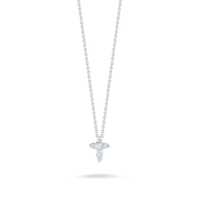 tiny diamond cross