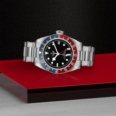 Tudor Black Bay GMT 41 Steel M79830RB-0001 on side