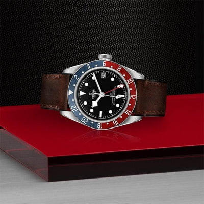 Tudor Black Bay GMT 41 Steel M79830RB-0002 on side