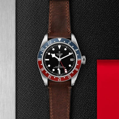 Tudor Black Bay GMT 41 Steel M79830RB-0002 black dial with red and blue bezel