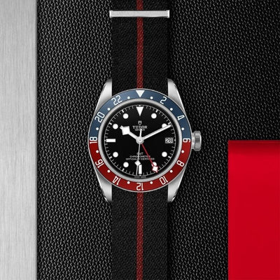 Tudor Black Bay GMT 41 Steel M79830RB-0003 black dial red and blue bezel