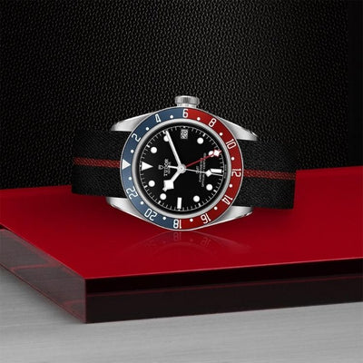 Tudor Black Bay GMT 41 Steel M79830RB-0003 on side