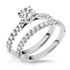 Adelaide Diamond Engagement Ring & Wedding Band - Naledi