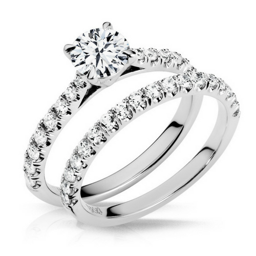 Adelaide Diamond Wedding Band - Naledi