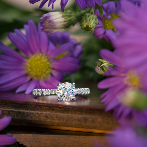 Adelaide Diamond Engagement Ring - Naledi