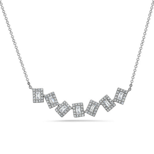 Dilamani Baguette Diamond Necklace