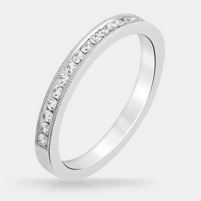 Heather Diamond Wedding Band - Naledi