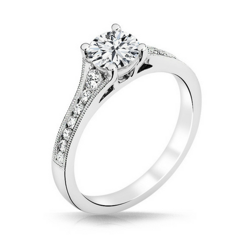 Heather Diamond Engagement Ring - Naledi - Diamond Solitaire - White Gold