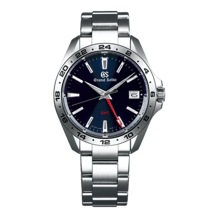 Grand Seiko Sport SBGN005 Blue Dial Steel Case
