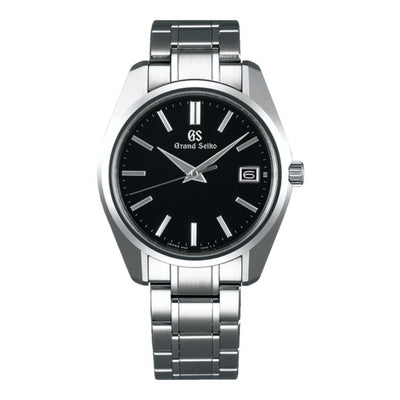 Grand Seiko Heritage SBGV207 - Black Dial Steel Case