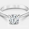 MacKenzie Diamond Solitaire Engagement Ring - Naledi - Diamond - Platinum