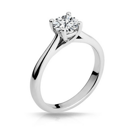 MacKenzie Diamond Solitaire Engagement Ring - Naledi - White Gold